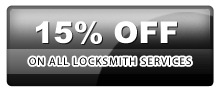 15% to all locksmith services